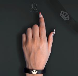 دستبند طرح تاج