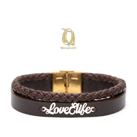 دستبند طرح love